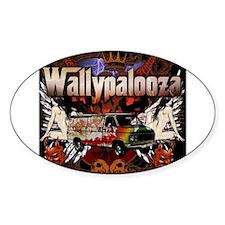 Wallypalooza classic Decal