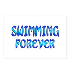 Swimming Forever Postcards (Package of 8)