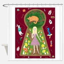 Alice (FairyTale Fashion #4) Shower Curtain