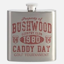 Caddyshack Bushwood Caddy Day t shirt.png Flask