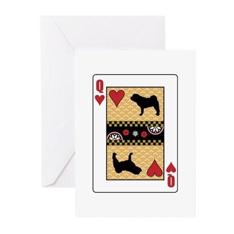 Queen Shar-Pei Greeting Cards (Pk of 10)