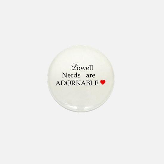Lowell Nerds Mini Button