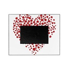 Heart of Ladybugs Picture Frame