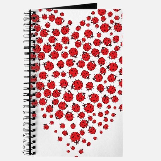 Heart of Ladybugs Journal