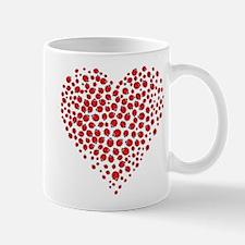 Heart of Ladybugs Mugs