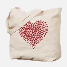 Heart of Ladybugs Tote Bag