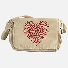 Heart of Ladybugs Messenger Bag