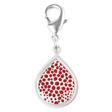 Heart of Ladybugs Charms