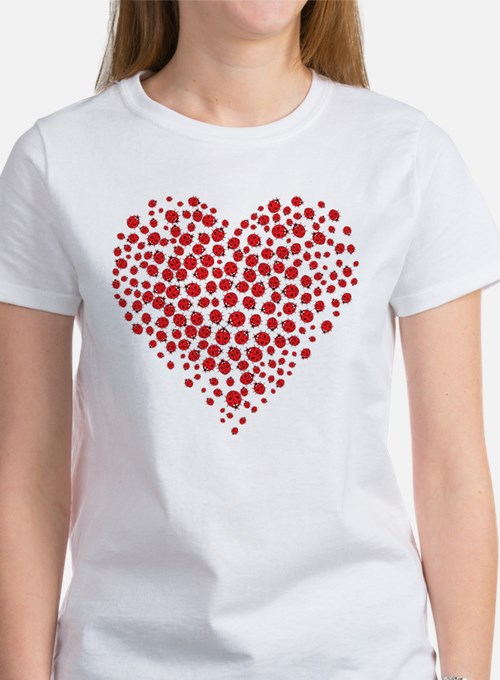 Heart of Ladybugs T-Shirt