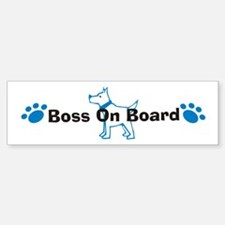 Boss On Board 999 Bumper Bumper Bumper Sticker