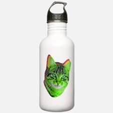 Saturday Cat Picnic Water Bottle