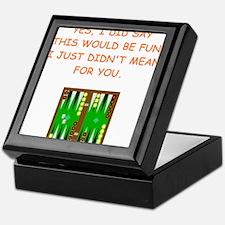backgammon Keepsake Box