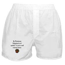Well Trained Rhodesian Ridgeback Owner Boxer Short