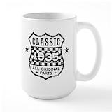 80 year Large Mugs (15 oz)