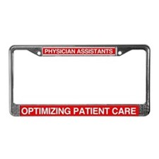 Cute Physician License Plate Frame