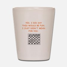 chess Shot Glass