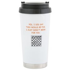 chess Travel Mug