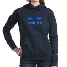 Skiing Forever Hooded Sweatshirt