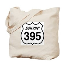 Drivin' 395 Tote Bag