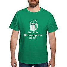 Let the shenanigans begin | St Patricks T-Shirt