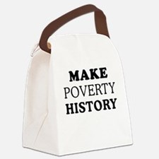 Make Poverty History Canvas Lunch Bag