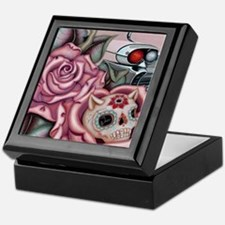 SUGAR SKULL ROSES Keepsake Box
