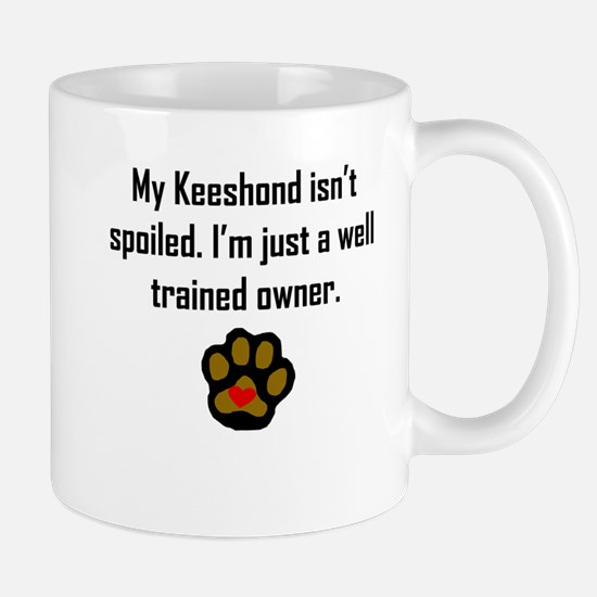 Well Trained Keeshond Owner Mugs