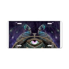 PAVOs EYE Aluminum License Plate