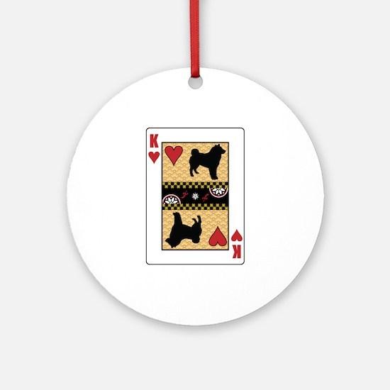 King Sheepdog Ornament (Round)