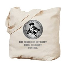 (Eternal Vigilance) About Control Tote Bag