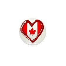 CANADA HEART Mini Button