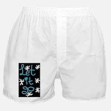 let it go - frozen Boxer Shorts