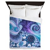 Fractal Luxe Full/Queen Duvet Cover