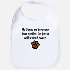 Well Trained Dogue de Bordeaux Owner Bib
