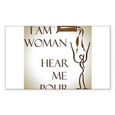 I AM WOMAN Decal