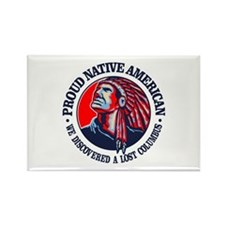 Proud Native American (Columbus) Magnets
