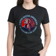 Proud Native American (Columbus) T-Shirt