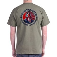 Proud Native American (columbus) T-Shirt