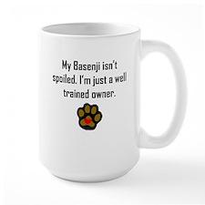 Well Trained Basenji Owner Mugs