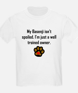 Well Trained Basenji Owner T-Shirt