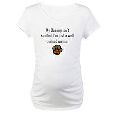 Well Trained Basenji Owner Shirt