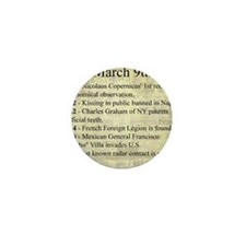 March 9th Mini Button