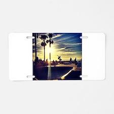 CALI SKATE Aluminum License Plate