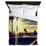 Skateboard Queen Duvet Covers