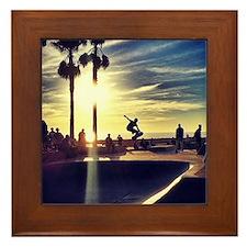 CALI SKATE Framed Tile