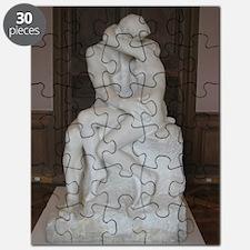 Rodin's The Kiss Puzzle