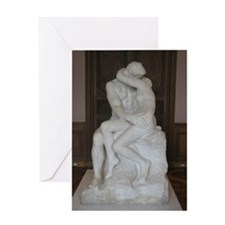 Rodin's The Kiss Greeting Card