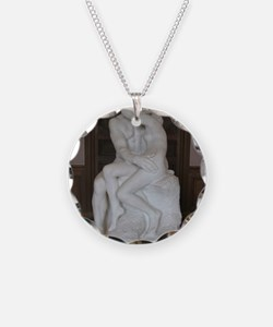 Rodin's The Kiss Necklace