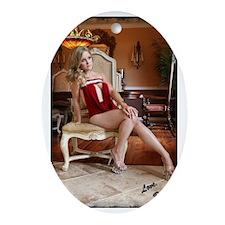 Bella Signature Oval Ornament