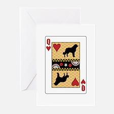 Queen Caucasian Greeting Cards (Pk of 10)